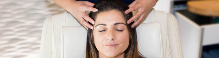Be Relax Head Up Massage face visage head tête neck cou back dos