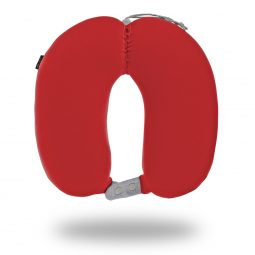 My Hoodie microbead Neck Pillow Red travel pillow oreiller de voyage à microbilles rouge