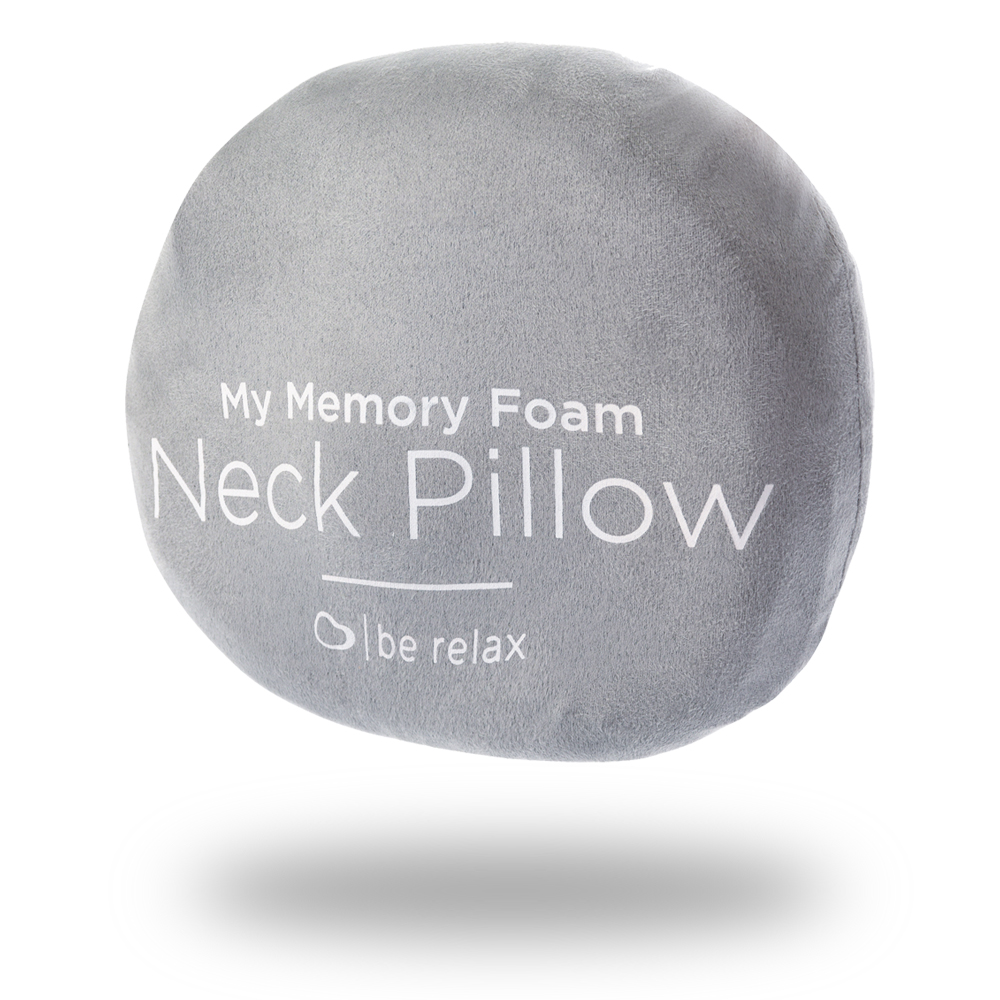 u201cmy memory foam wellness pillowu201d is the ultimate wellness travel pillow finetuned by our designers for 2 years this cushion has been developed for - Memory Foam Neck Pillow