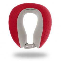 My Memory Foam Pillow Red Be Relax accessories travel pillow coussin de voyage mémoire de forme rouge