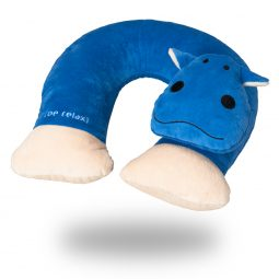 kid's travel pillow My Fluffy Pillow Hippo