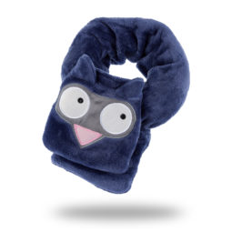 My Best Sleep Buddy plush scarf echarpe peluche